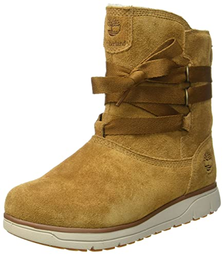 Timberland Leighland Pull-on Waterproof, Bottes Femme, (Trapper Tan), 37 EU