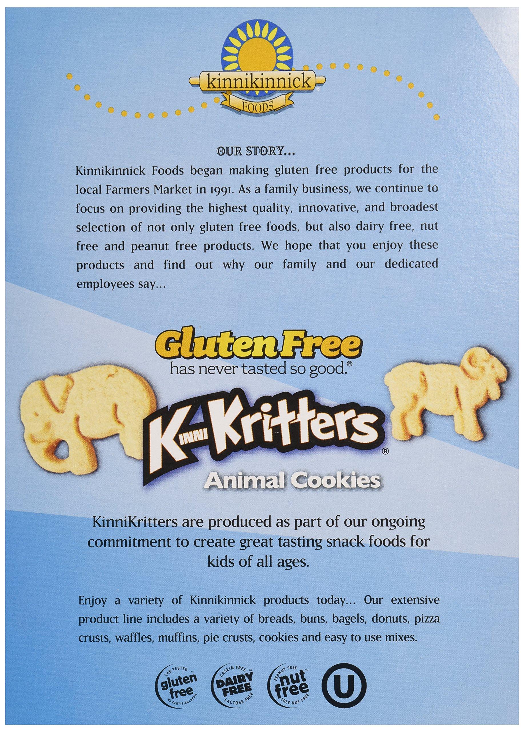 Kinnikinnick, Animal Cookies, Gluten Free, Wheat Free, Dairy Free, 8 oz by Kinnikinnick (Image #5)