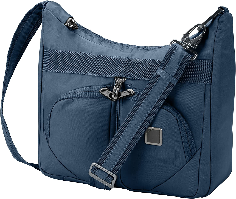 Lewis N. Clark RFID Blocking Anti-theft Satchel Messenger Bag for Women w/ Adjustable Shoulder Strap