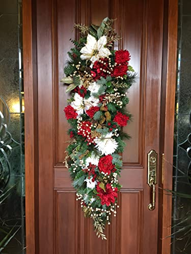 holiday garland elegant christmas decor christmas garland berry garland