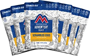 Mountain House Scrambled Eggs with Bacon | Freeze Dried Backpacking & Camping Food | Gluten-Free