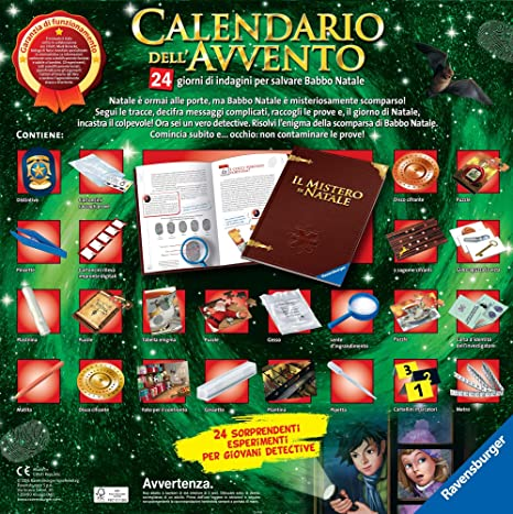 Il Calendario Di Natale Streaming.Ravensburger Italy Calendario Dell Avvento 18938
