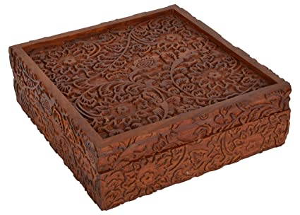Decorative Arts An Old Carved Box