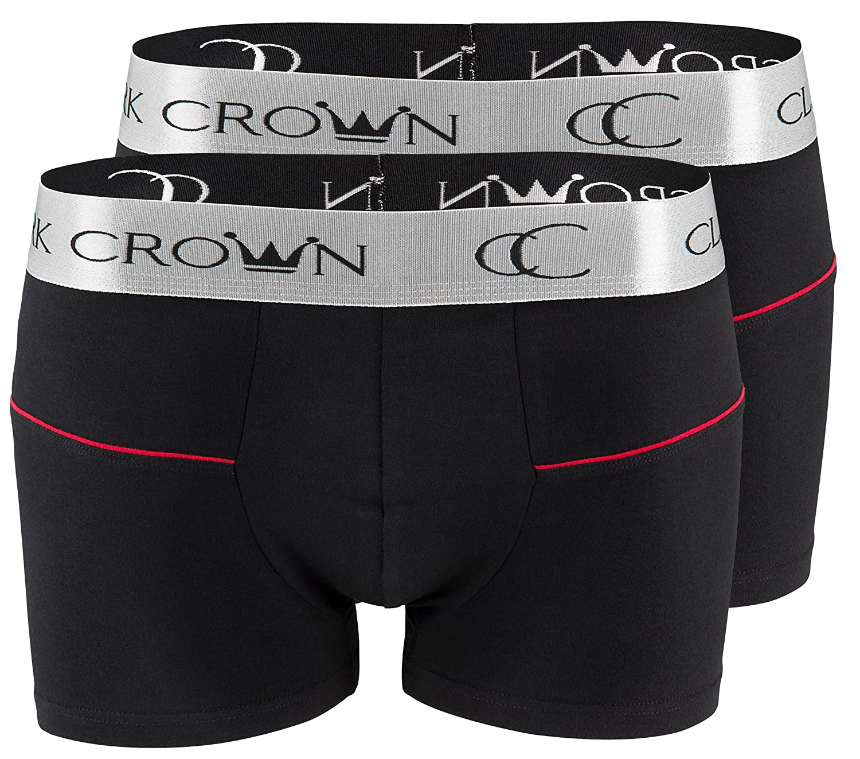 B/óxer para hombre Clark Crown/® Boxer sin costuras microfibra Pack de 3