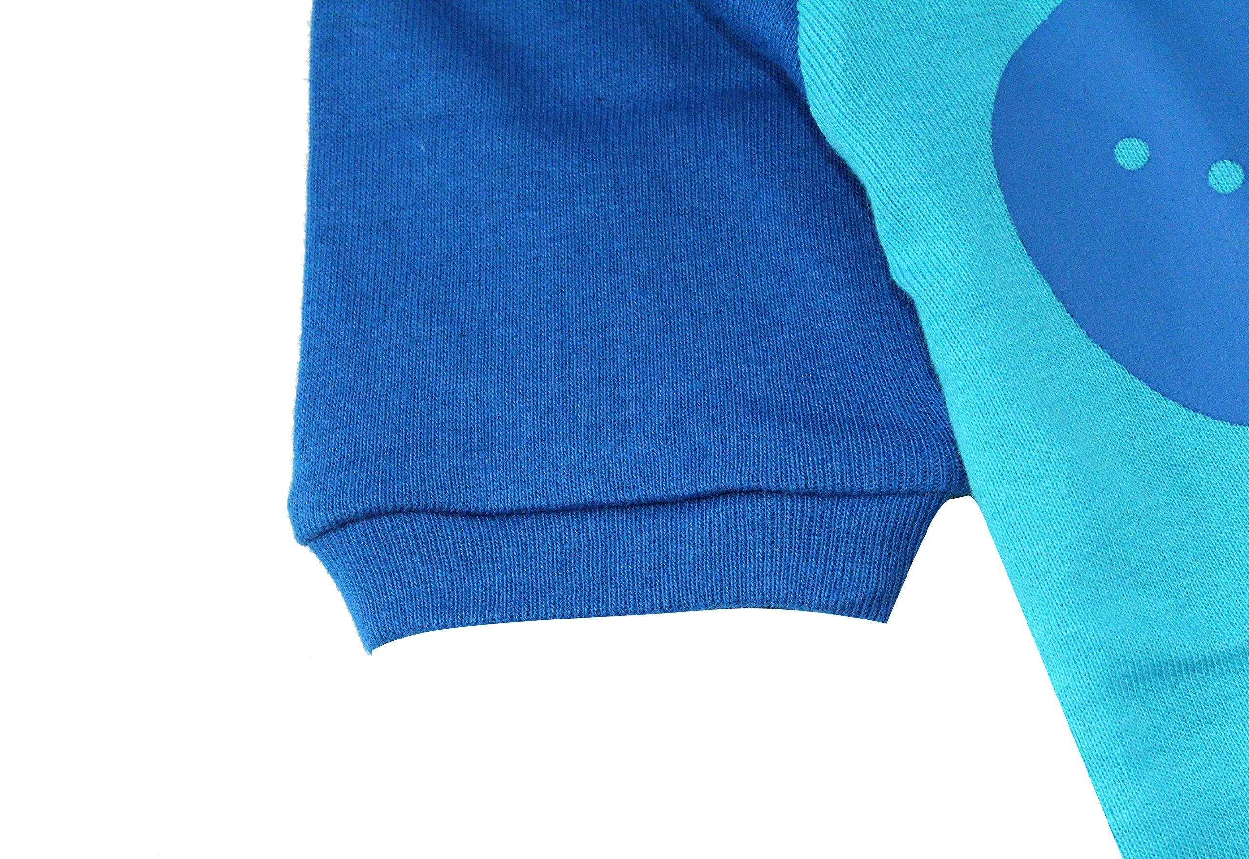 Boys Pajamas Boys Dinosaur Little Kid Shorts Set 100% Cotton Clothes Short Sleeves Sleepwear 8Y by shelry (Image #4)