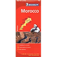 Michelin Africa Morocco Map 742