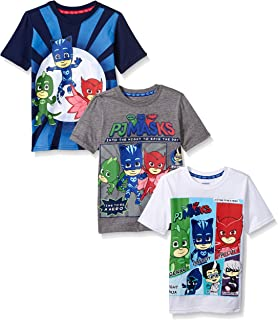 90d0ed7f4 Amazon.com: Jumping Beans Toddler Boys 2T-5T PJ Masks Raglan Graphic ...