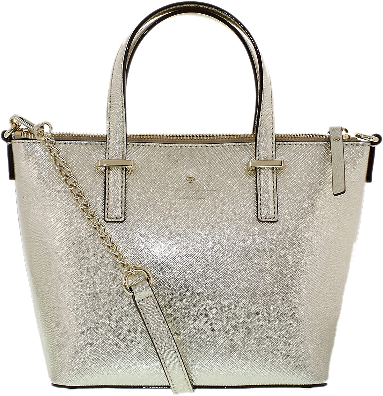 kate spade new york Cedar Street Harmony Convertible Cross-Body Bag Gold One Size