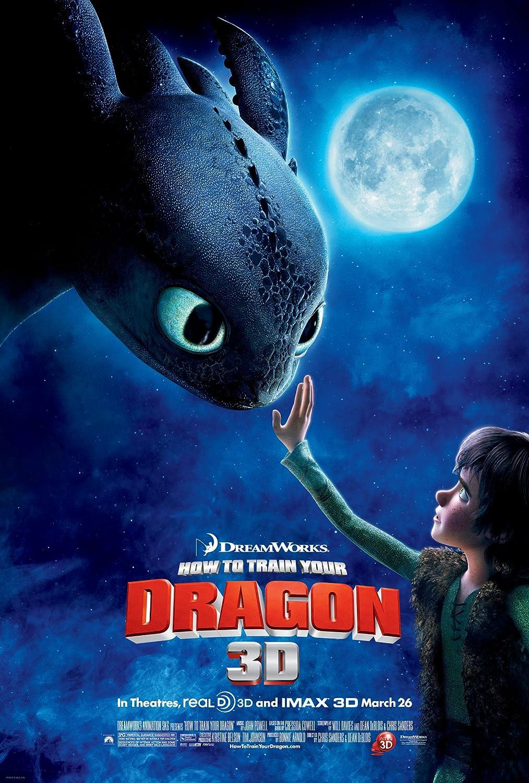 Póster de como entrenar a tu dragón
