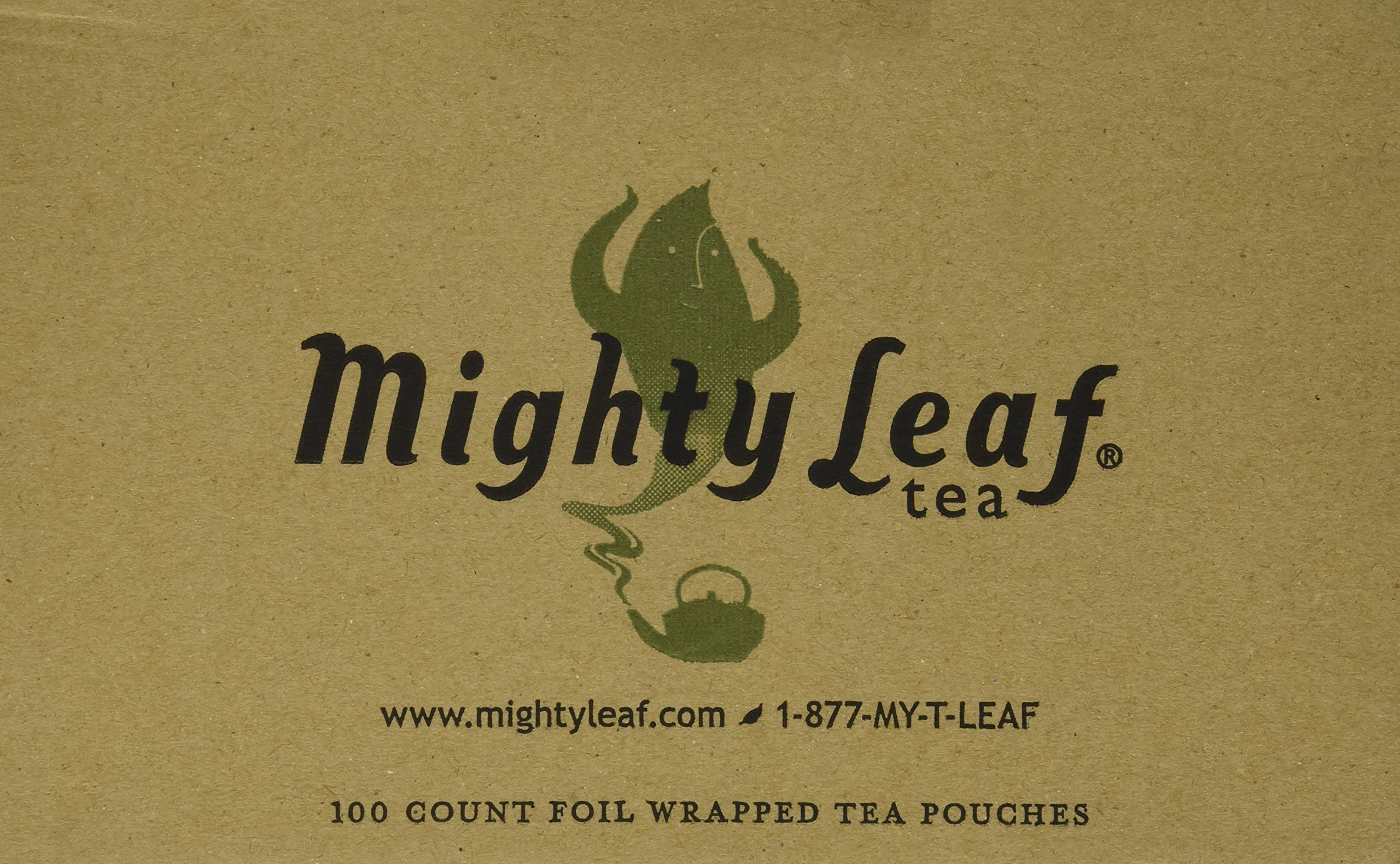 Mighty Leaf Tea White Orchard Tea Pouches, 100 Pouches by Mighty Leaf Tea