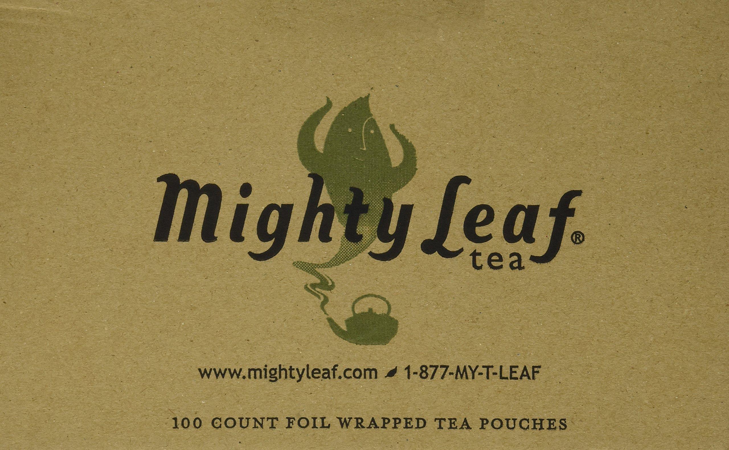 Mighty Leaf Tea White Orchard Tea Pouches, 100 Pouches