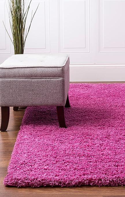 Amazon.com: Soft & Plush Solid Shag Rug for Bedroom | Living Room ...