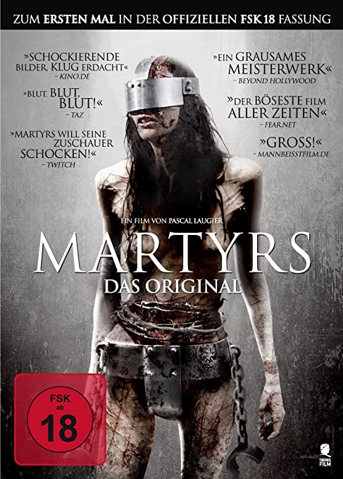 Pascal Laugiers Martyrs - Das Original Alemania DVD: Amazon.es ...