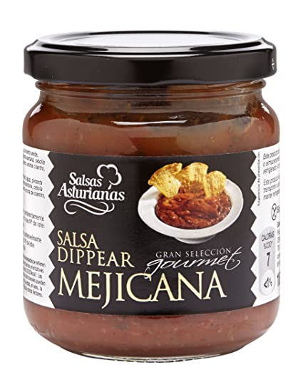 Salsas Asturianas Salsa Mejicana - 190 gr - [Pack de 6]