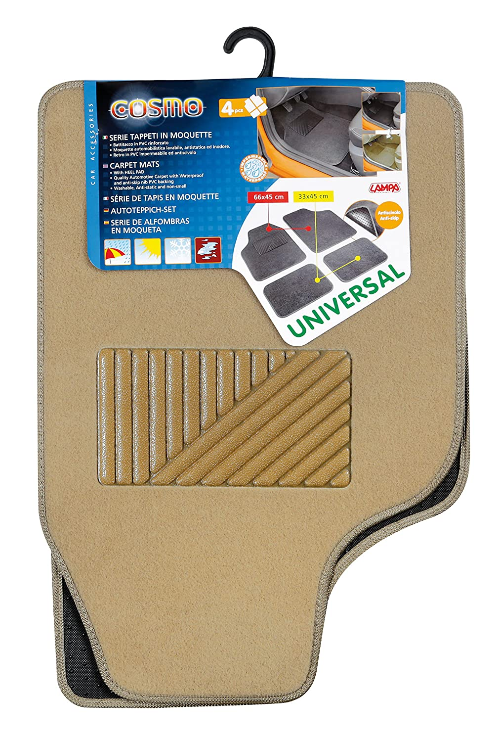 Lampa 25102 Cosmo Tapis universels pour Voiture