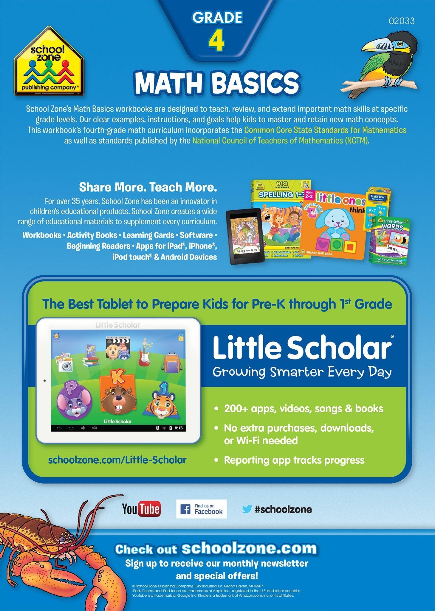 Math Basics: I Know It! Workbooks: School Zone Publishing, School ...