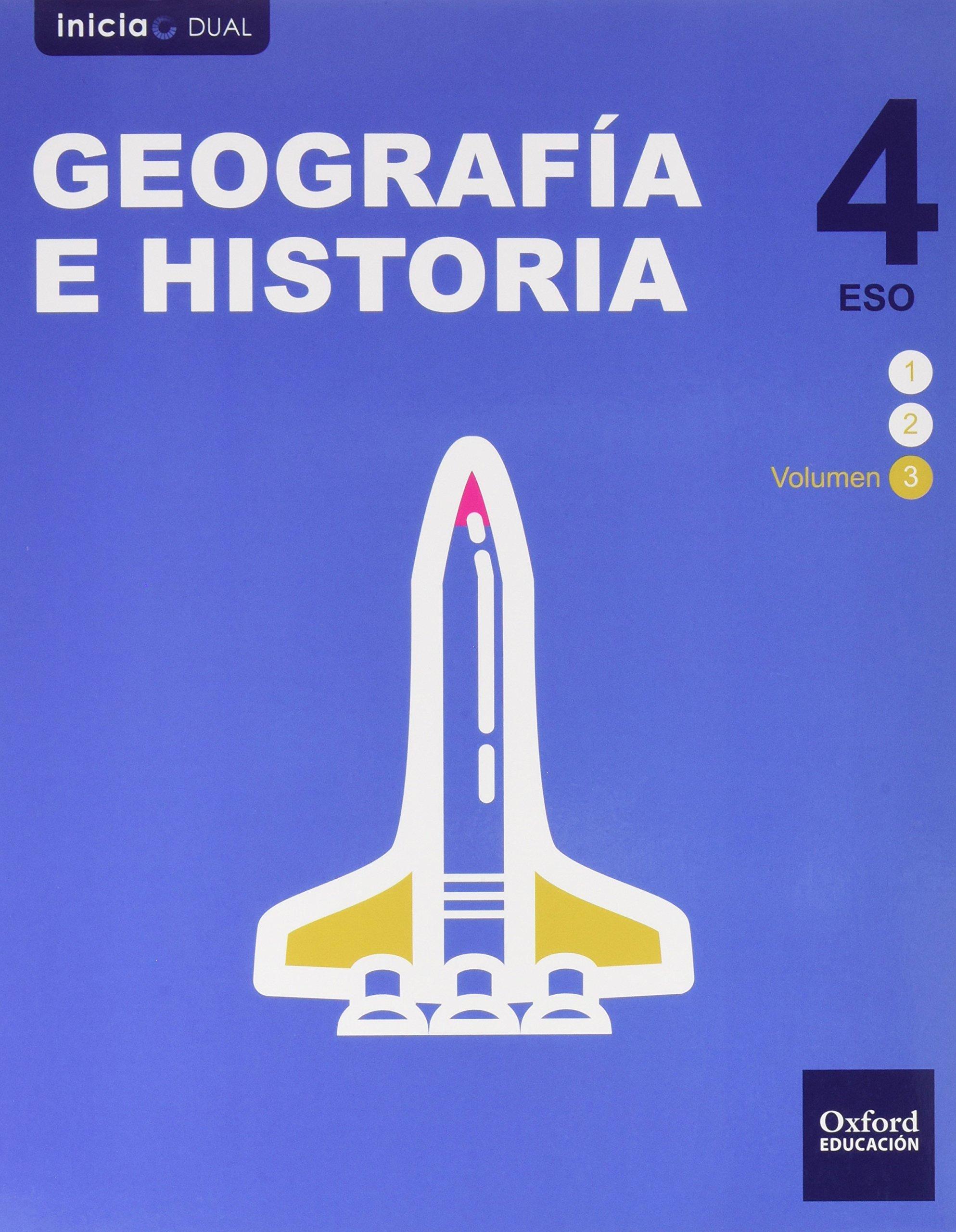 Pack Inicia Dual Geografía E Historia. Libro Del Alumno - 4º ESO - 9780190503420: Amazon.es: Varios Autores: Libros