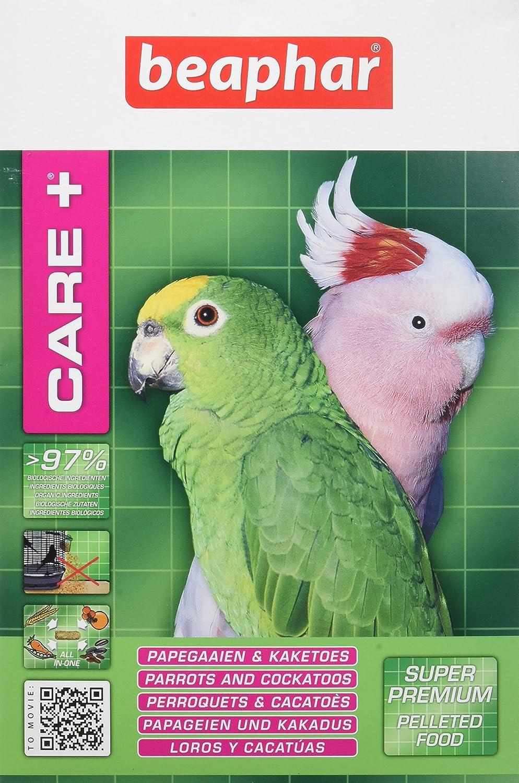 Beaphar - Care+ alimentation super premium - perroquets et cacatoès - 1 kg 18352 alimentation perroquets nourriture perroquets alimentation cacatoès