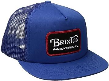 Brixton Grade, Gorra Unisex con Malla, Unisex, Grade Mesh, Azul Cobalto, Talla única: Amazon.es: Deportes y aire libre