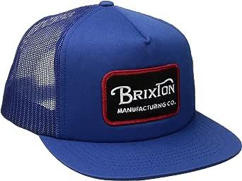 Brixton Grade, Gorra Unisex con Malla, Unisex, Grade Mesh, Azul ...
