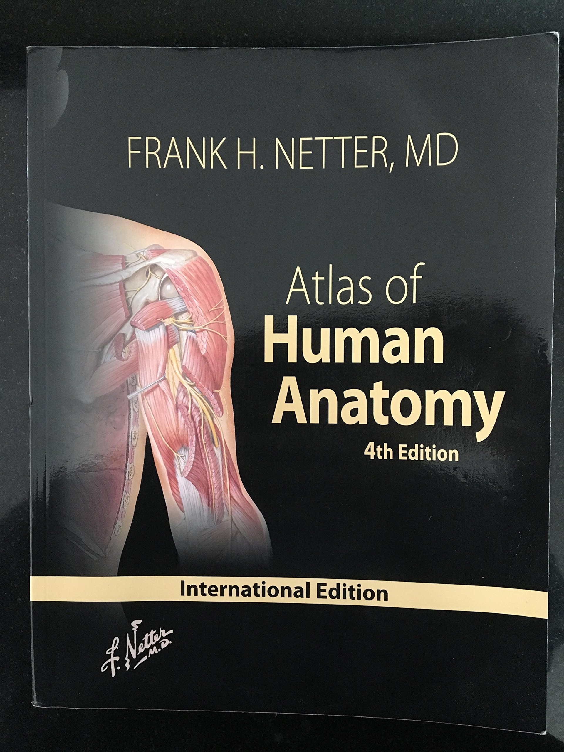 Atlas Of Human Anatomy Md Frank H Netter 9781416033851 Amazon
