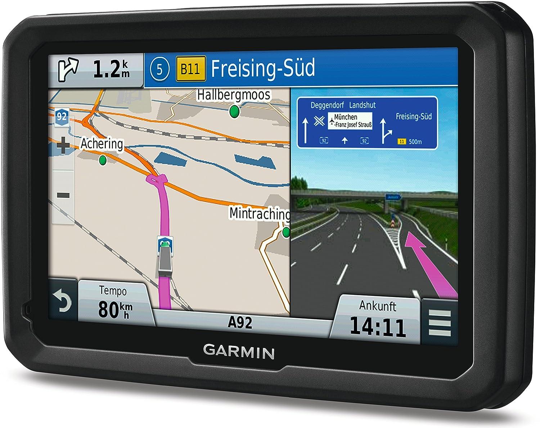 Garmin Dezl 770LMT-D Pantalla de 7, Mapa Europa Completo Navegador GPS con mapas de por Vida y tr/áfico Digital