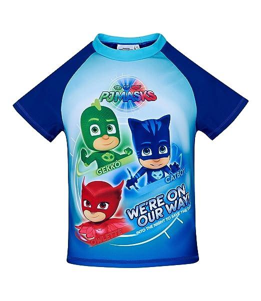 PJ Masks Chicos Swim Shirt - Azul - 98