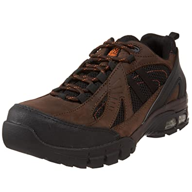 Nautilus 1700 Comp Toe No Exposed Metal EH Athletic Shoe,Brown/Black,10