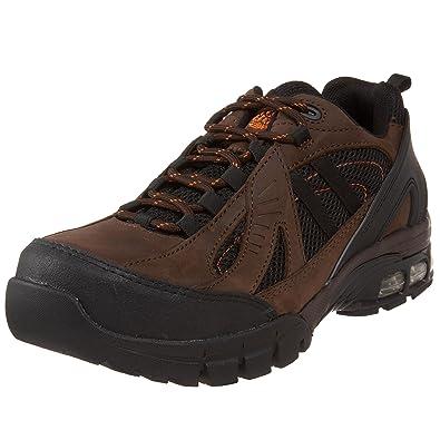 Nautilus 1700 Comp Toe No Exposed Metal EH Athletic Shoe,Brown/Black,10