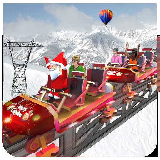 Christmas Santa Roller Coaster Adventure Sim (Santa Mobile)
