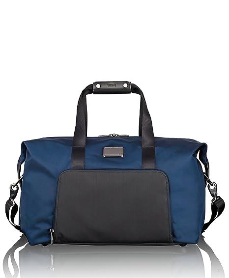 0de65cfbb Tumi Alpha 2, double expansion travel satchel, 47 cm, 30 L, Navy Black,  022159NVYD2: Amazon.co.uk: Luggage