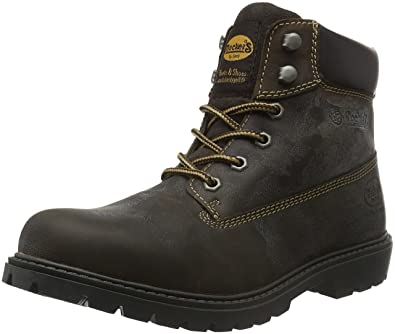 Dockers by Gerli Mens 19pa040-400360 Ankle Boots Brown (Schoko) 10 UK