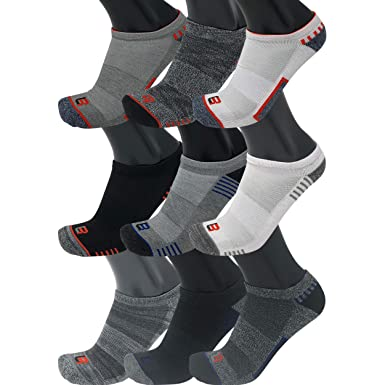 Locker room mens 10 pack cushion no show athletic socks size 10