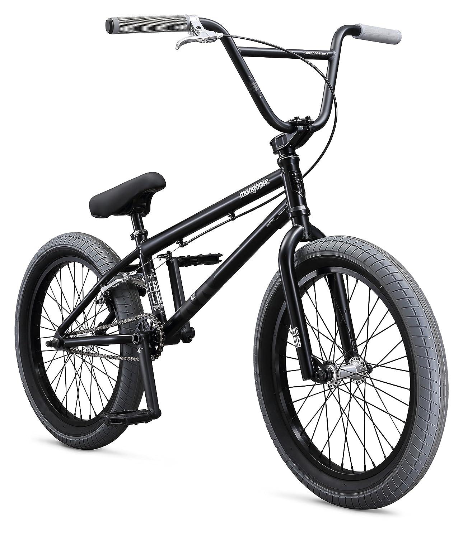 Amazon.com : Mongoose Boys Legion L100 Bicycle, Black, One Size/20 ...