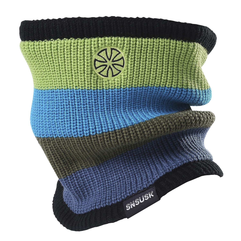 Botack 3 en 1 Ski Beanie Chapeau Chaud Polaire Doublé d'hiver Mens Cou Plus Chaud Masque