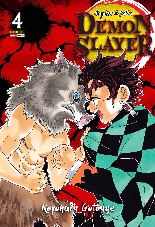 Mangá Demon Slayer Kimetsu No Yaiba Vol. 4 - Koyoharu Gotouge