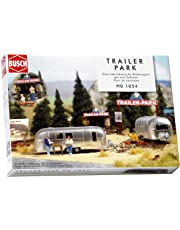 Busch 1054 Camping Trailer Park Scn HO Scale Scenery Kit