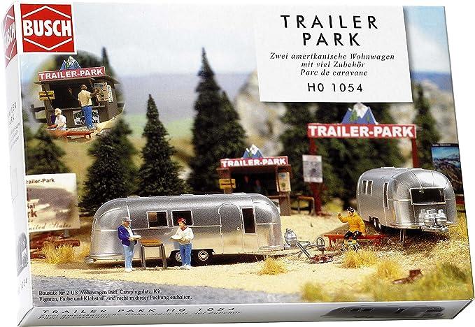 Scala H0 Set campeggio con accessori BUSCH 6026