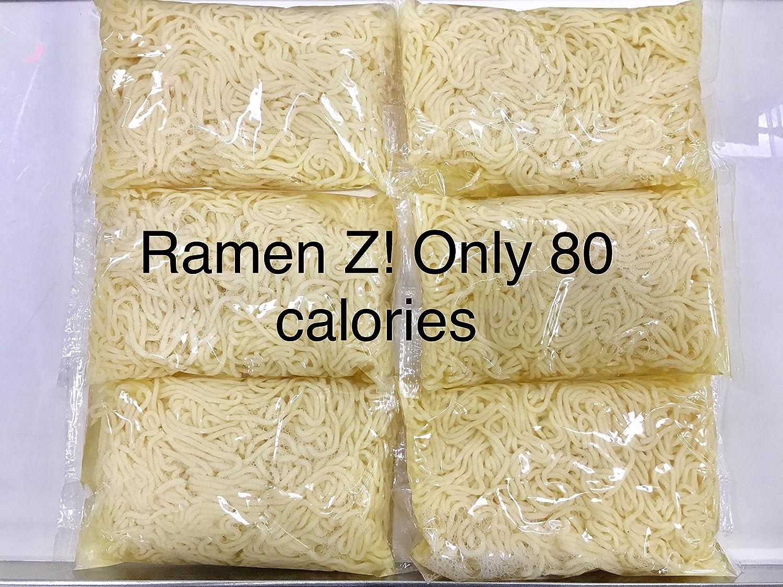 Gluten Free Ramen Zero (Shirataki, Ramen noodles, Pasta, Chowmein) - 7 oz, 6 pack