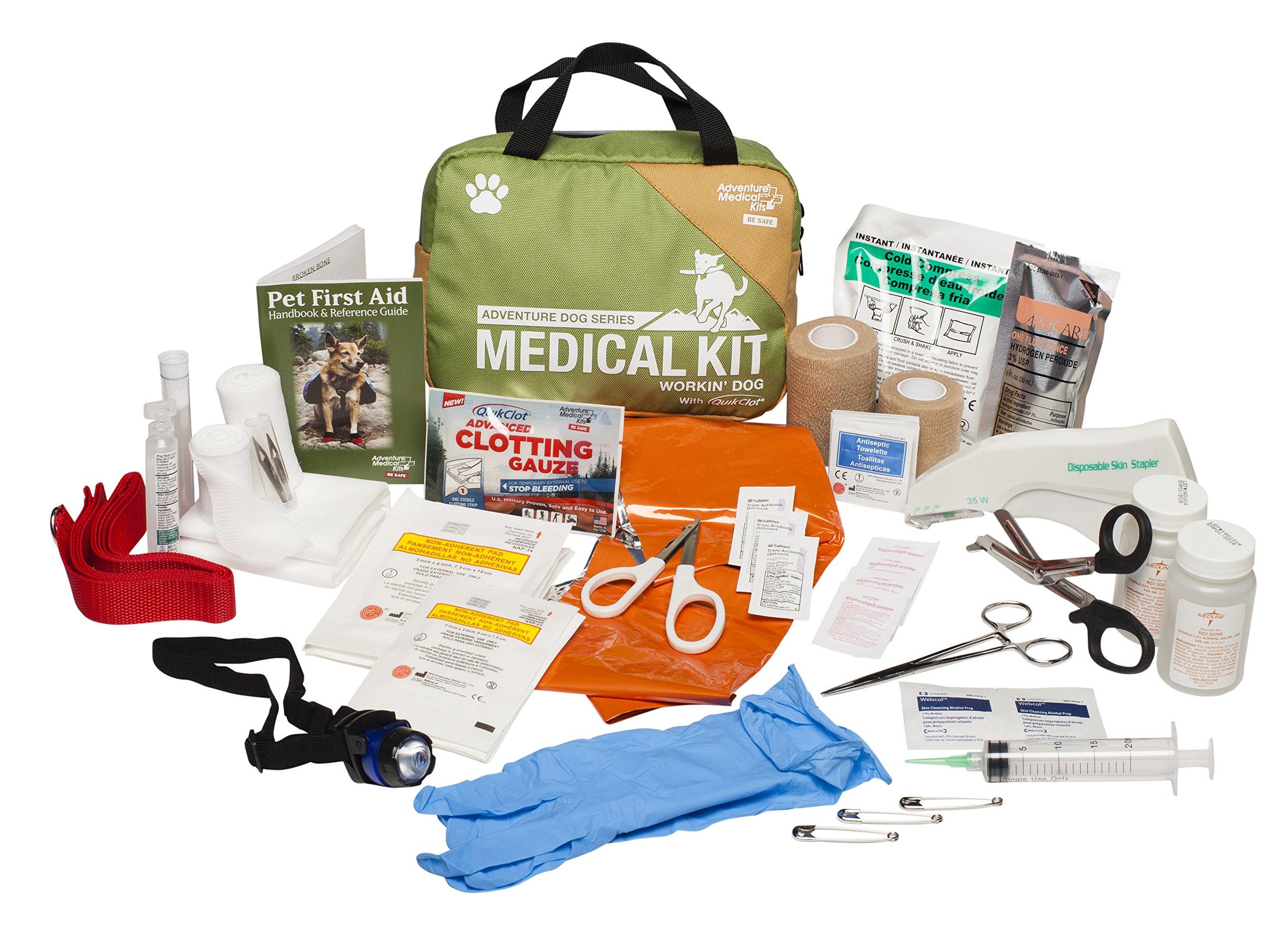Adventure Medical Kits Adventure Dog Series, Workin' Dog, 2.3125 Pounds