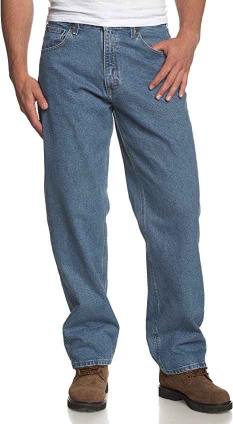 Carhartt Mens Relaxed Straight Leg Five Pocket Jean