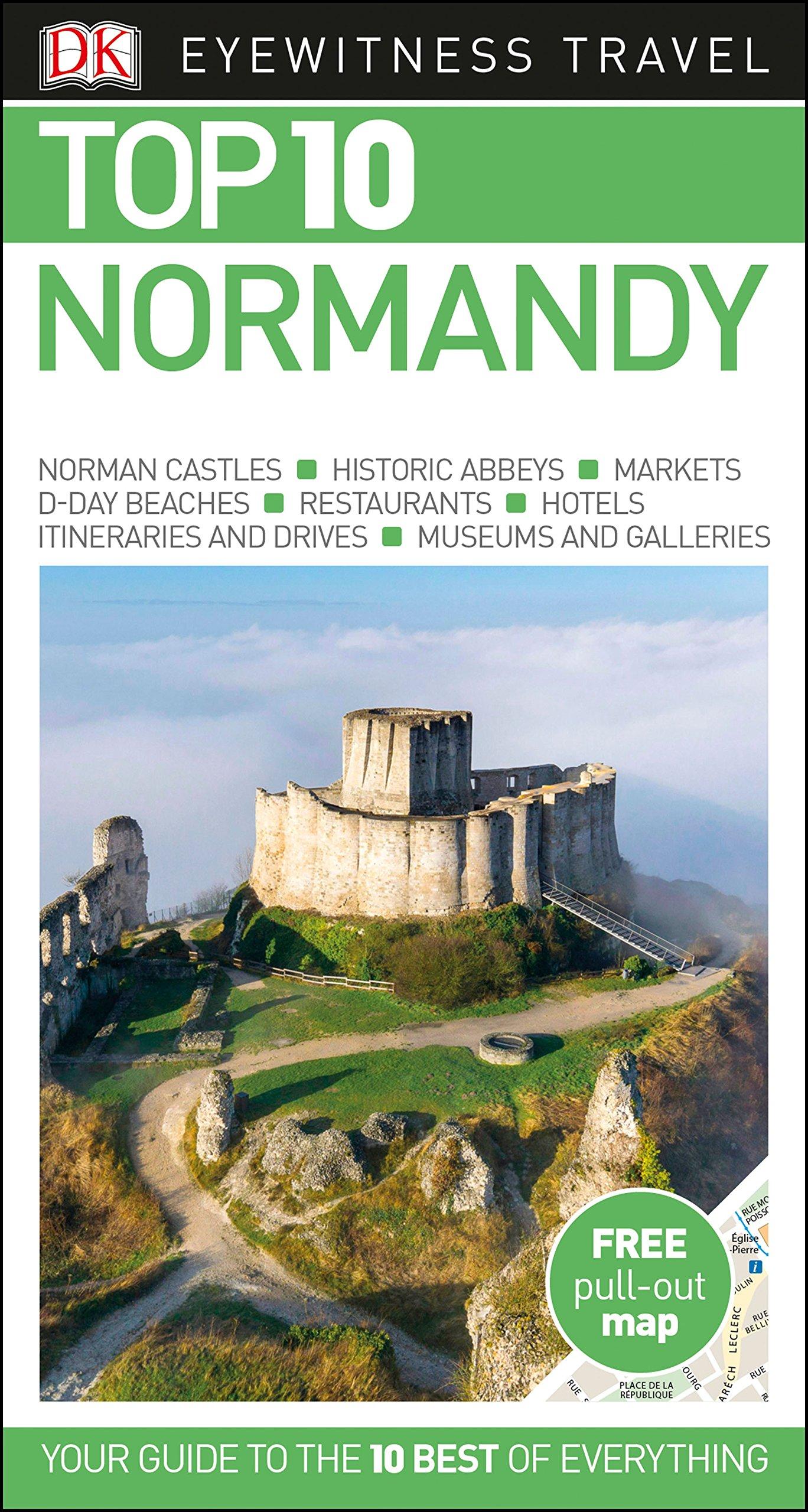 top-10-normandy-dk-eyewitness-travel-guide