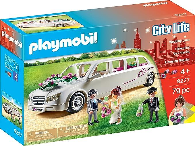 PLAYMOBIL City Life Limusina Nupcial, A partir de 4 Años (9227 ...