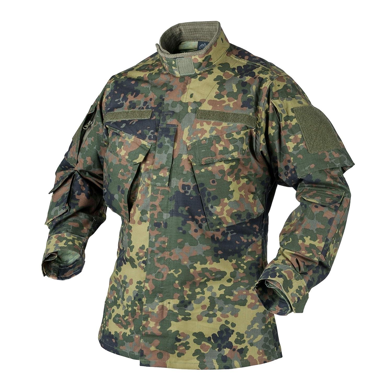 Helikon-Tex CPU Jacke Shirt - Polycotton Ripstop - Flecktarn BL-CPU-PR-23