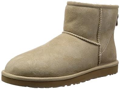 06787b8debe discount ugg australia classic mini sand womens boots size 38 eu 31f36 64132