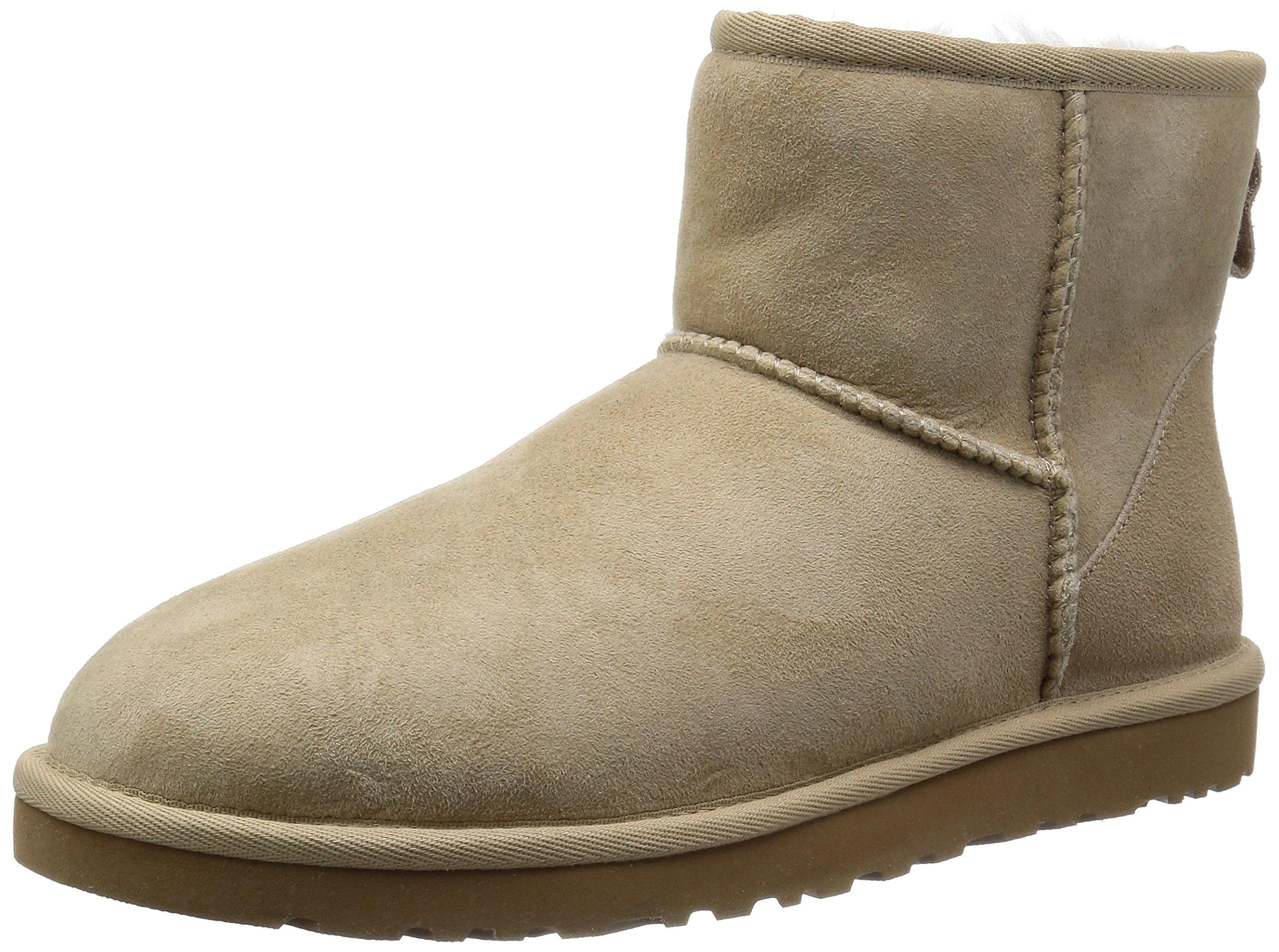UGG Australia Womens Classic Mini Boot Sand Size 7