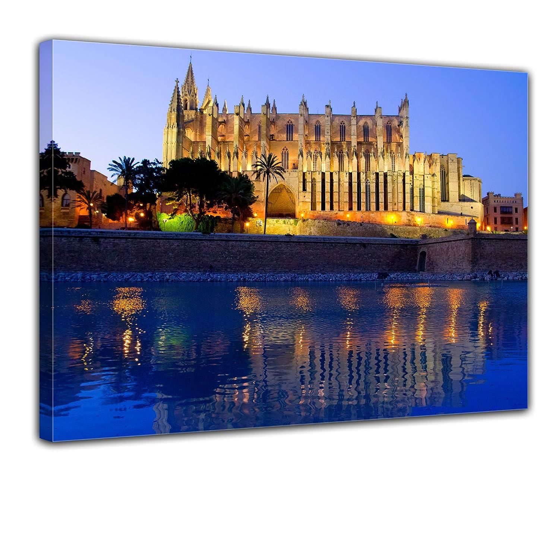 Bilderdepot24 Cuadros en Lienzo Catedral de Palma de ...