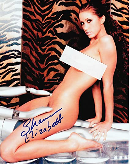 Amazon Com Shannon Elizabeth Nude  Autograph On Glossy Photo Paper Everything Else