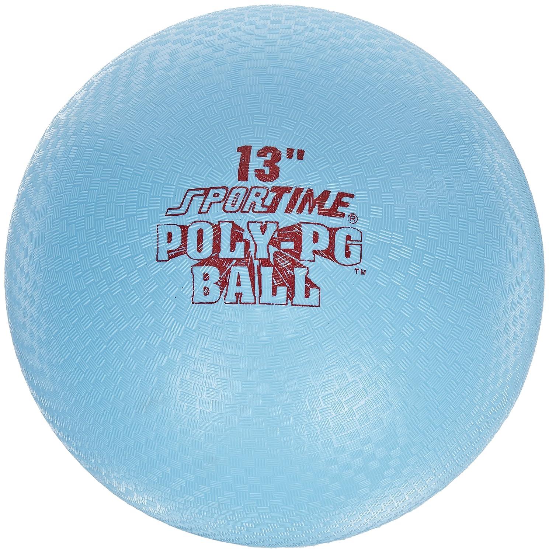 Sportime Poly Playground Ball – 13 Pulgadas – Azul
