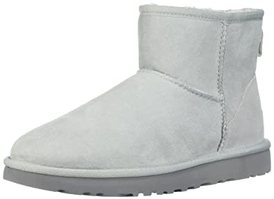 UGG Women's Classic Mini II Fashion Boot, Grey Violet, ...
